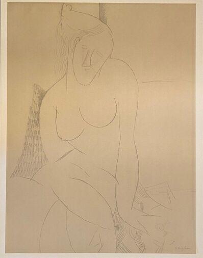 Amedeo Modigliani, 'Nue assise', 1959