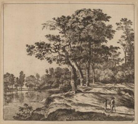 Jan Hackaert, 'Landscape with Four Trees'
