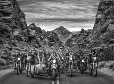 David Yarrow, 'The Leader of the Pack', 2019