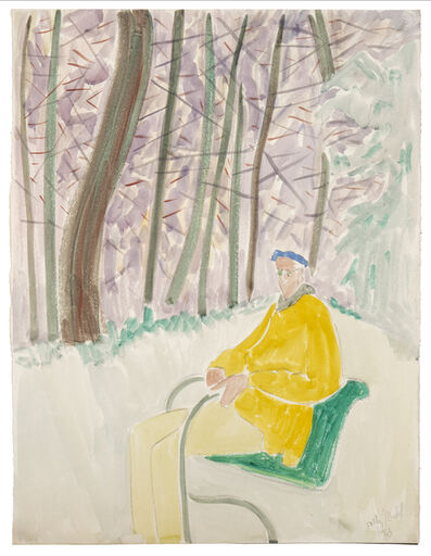 Sally Michel Avery, 'Milton Resting', 1963