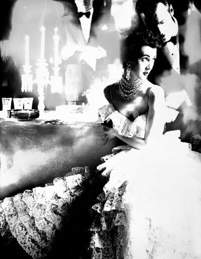 Lillian Bassman, 'In This Year of Lace, Dovima, Dress by Jane Derby, The Plaza Hotel, New York, Harper's Bazaar, October 1951', 1951