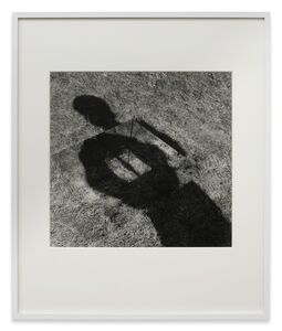 Keith Arnatt, 'Mirror-lined pit (grass bottom), 1968. (first executed June 1969). An invisible hole revealed by my own shadow ', 1968