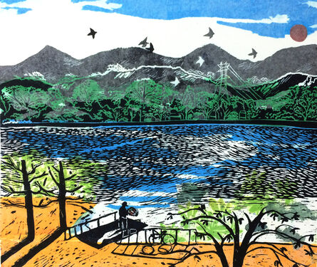June Ho, 'On The Islet In The River', 2018