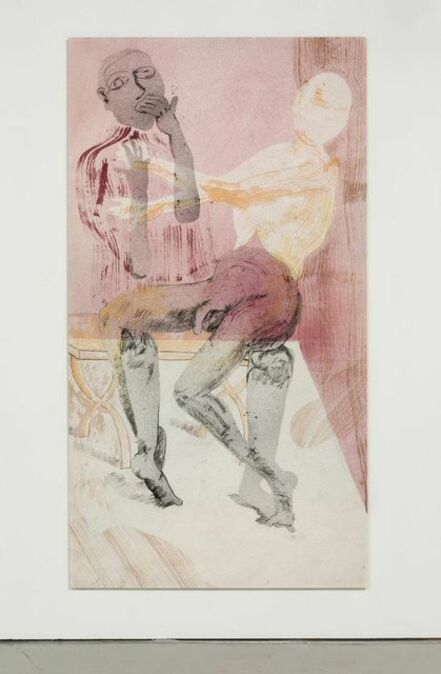 Matthew Lutz-Kinoy, 'The pleasure game in a new house', 2015