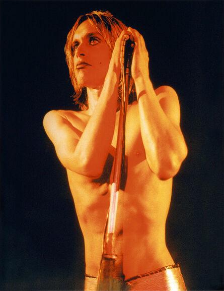 Mick Rock, 'Iggy Pop, Raw Power Cover', 1972