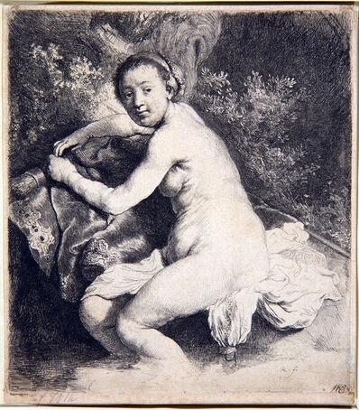 Rembrandt van Rijn, 'Diana at the bath', 1631