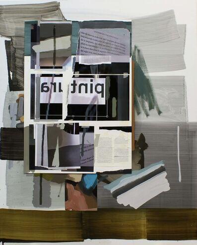 Jorge Julve, 'Mirar libro, leer pintura', 2020
