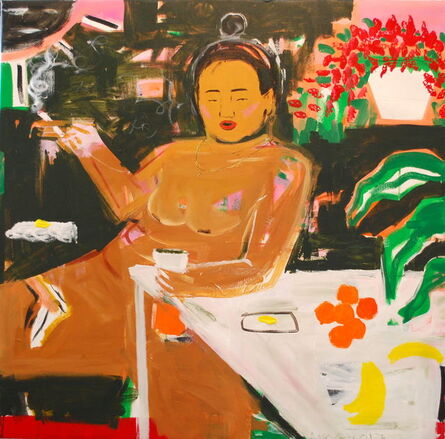 Monica Kim Garza, 'Smoke, Drank, Coffee, Dank', 2017