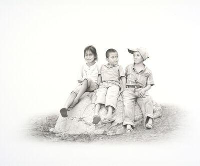 Francisco Souto, 'Three Kids', 2017