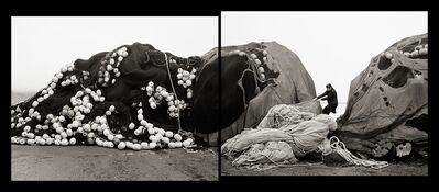 Agnieszka Sosnowska, 'Self Portrait, Pulling Nets, Neskaupsstaður, Iceland', 2014