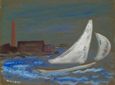 Milton Avery, 'Untitled (Souris Under Sail)', ca. 1930