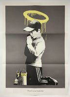 Banksy, ' Forgive Us Our Trespassing (Poster)', 2010