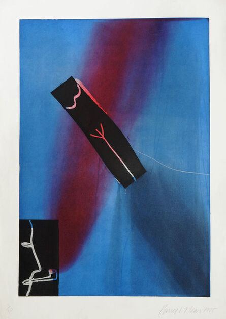 Bruce McLean, 'Thin Red Pipe Smoker', 1985