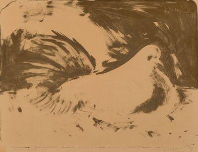 Wayne Thiebaud, 'Winter Bird', 1955