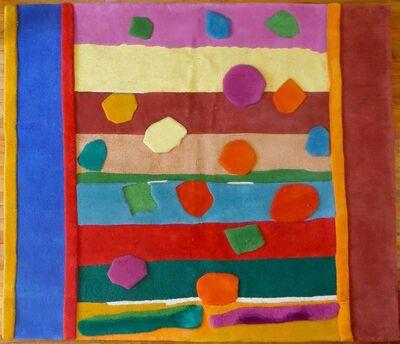 Esteban Vicente, 'HOLIDAY Pile Tapestry Rug Esteben Vicente By Edward Fields', 20th Century