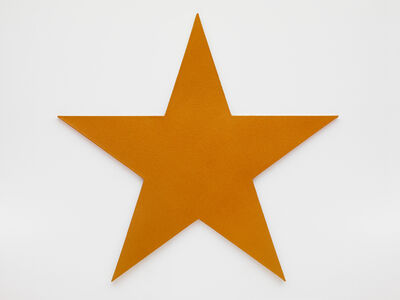 Olivier Mosset, 'Gold Star', 2008