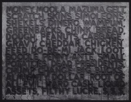 Mel Bochner, 'Money', 2006