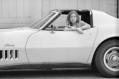 Julian Wasser, 'Joan Didion, Hollywood, 1968 (11a.)', 1968