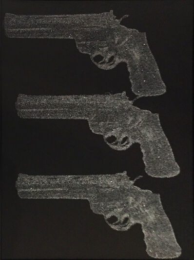 Russell Young, 'Elvis TCB Gun - Triple', 2010