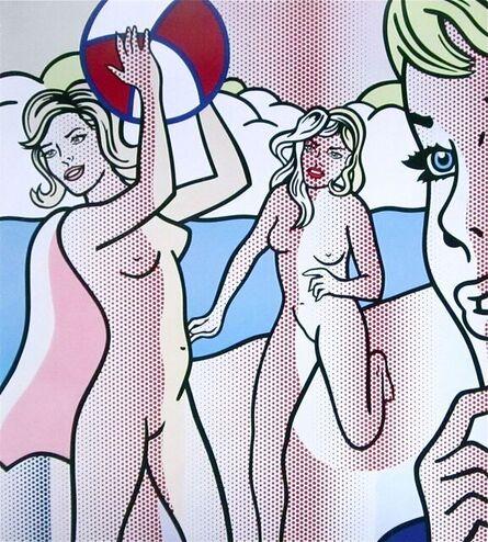 Roy Lichtenstein, 'Nudes with Beach Ball', 2007