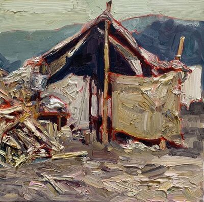 Hung Liu 刘虹, 'Duster Shack 10', 2019