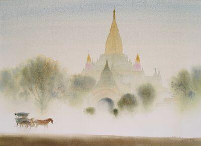 Min Wae Aung, 'Misty Morning In Bagan 2', 2019