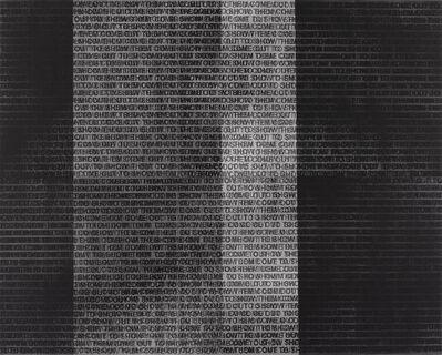 Glenn Ligon, 'Come Out #16', 2015