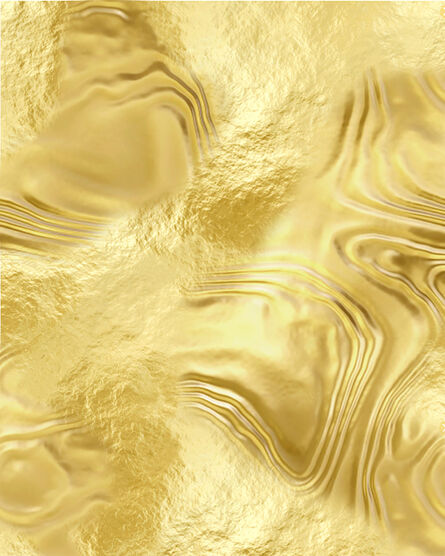 Ben Weiner, 'Abstract (Gold)', 2018