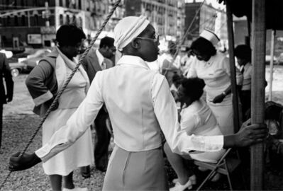 Dawoud Bey, 'At a Tent Revival Meeting, 1977', 1977