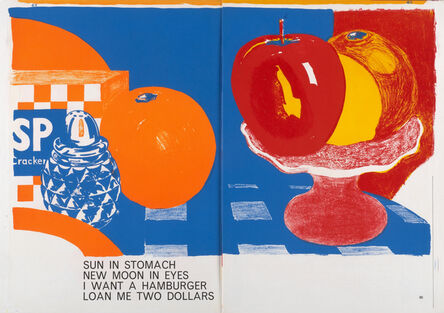 Tom Wesselmann, 'Sun In Stomach', 1964