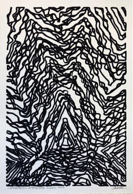 Matthew Eaton, 'Compression Labyrinth', 2012