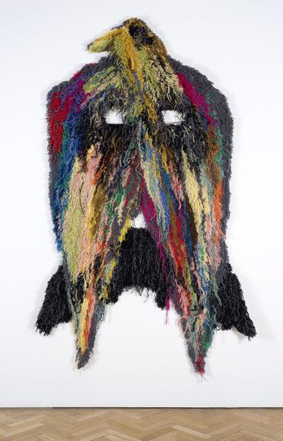 Caroline Achaintre, 'Moustache Eagle', 2008