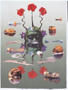 Ashley Bickerton, 'Green Reflecting Head Version No.2', 2006