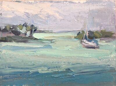 Pratima Rao, 'Wind Swept, Key West 1 (Plein air)', 2019