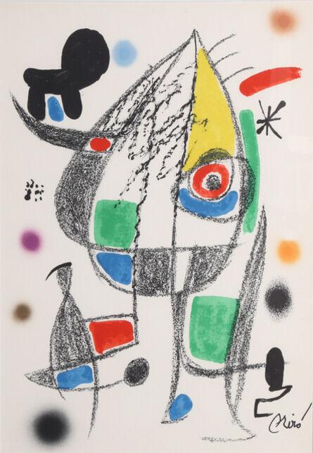 Joan Miró, 'Maravillas con Variaciones Acrosticas en el Jardin de Miro (Number 22)', 1975
