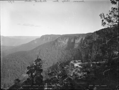 Kerry & Co. Studio, 'Jamieson Valley from Wentworth Falls', ca. 1900