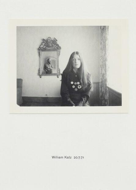 Richard Hamilton, 'Polaroid Portrait: William Katz 20.7.71', 2010