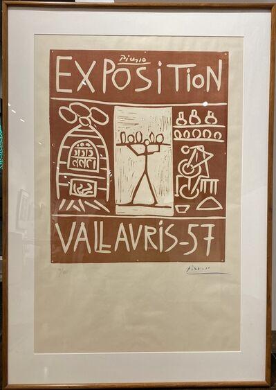 Pablo Picasso, 'Exposition Vallauris 1957 (B.1277)', 1957