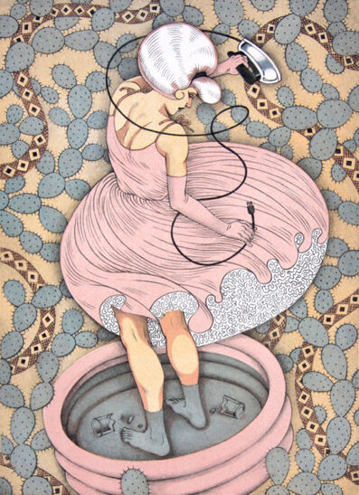 Kathryn Polk, 'Little Pink Lies'