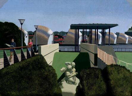 David Piddock, ' Cupid and Psyche - Barrier Park'