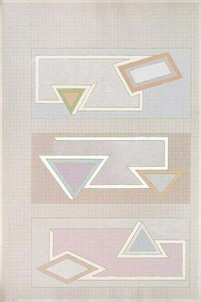 Frank Stella, 'Pastel Stack', 1970
