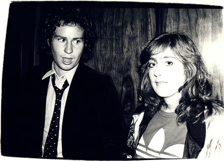 Andy Warhol, 'Andy Warhol, Photograph of John McEnroe and Catherine Guinness, 1979', 1979
