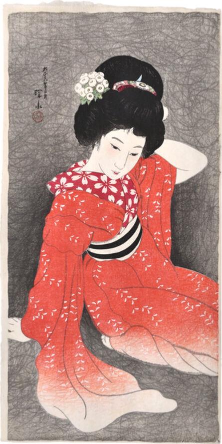 Itō Shinsui, 'In Spring', 1917