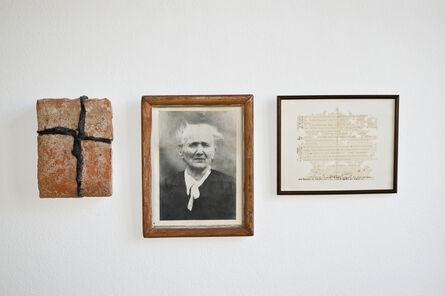 Josef Bauer, 'Assumption on a photo', 1956-1978
