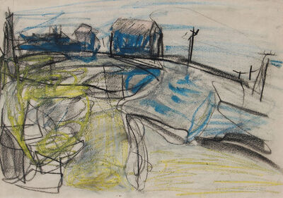 Peter Lanyon, 'Study for St Just', 1952