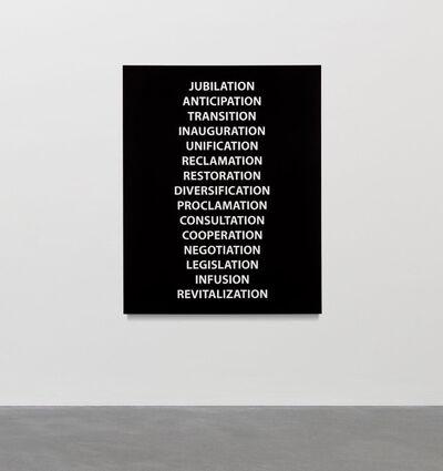 Sharon Lockhart, 'History Painting IV (The New York Times, November 8, 2020–March 11, 2021)', 2021