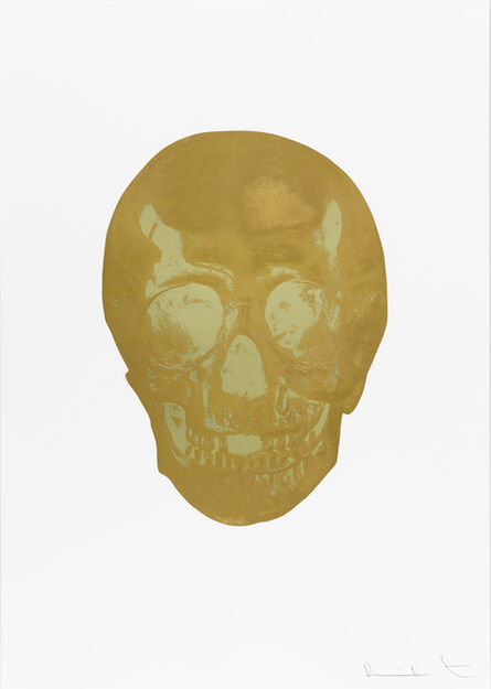 Damien Hirst, 'Death Or Glory Autumn Gold/Cool Gold Glorious Skull ', 2011