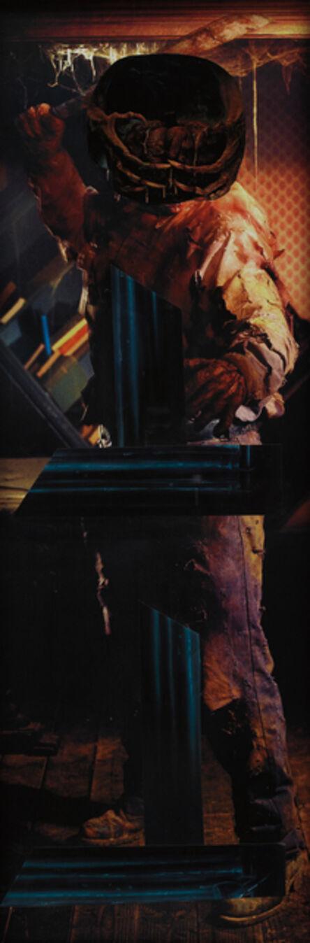 Sterling Ruby, 'Armature Pumpkin Head', 2007