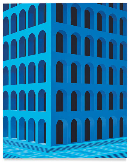 Daniel Rich, 'City Square at 4 am (Palazzo della Civiltà Italiana, Small Version)', 2020