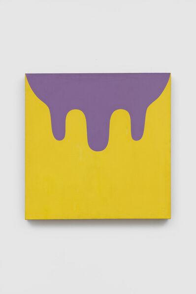 Marcia Hafif, '160 (Yellow violet)', 1967